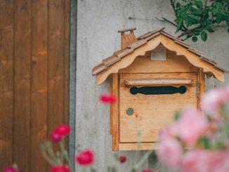 Olika typer av postlådor