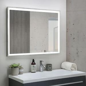 Bästa spegel med belysning - Beliani Bathroom Mirror